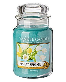 Yankee Candle Happy Spring Large Jar