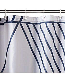 Hygena Anti Bacterial Shower Curtain