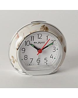 Wm.Widdop Pink Alarm Clock
