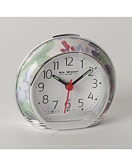 Wm.Widdop Green Alarm Clock
