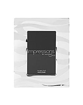 Impressions Wavy Design Frame 4x6