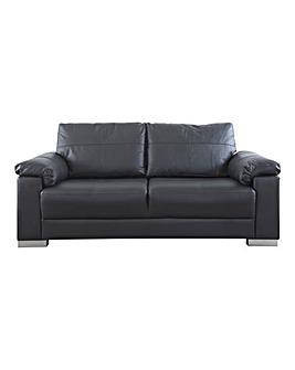 Ravel Leather 3 seater Sofa