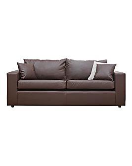 Alicante Faux Leather 3 seater sofa