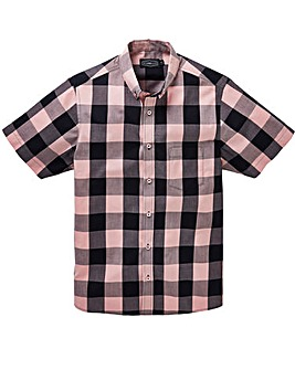 Label J Checked Shirt Long