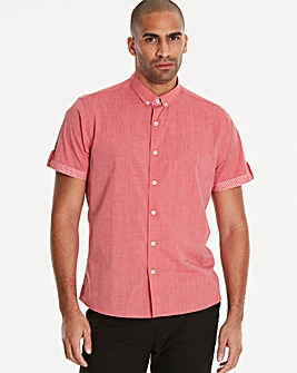 Black Label Red S/S Trim Shirt R