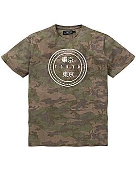 Label J Camo Tokyo T-Shirt Long