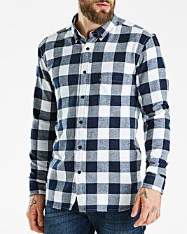 Jacamo Flannel Check Shirt Long