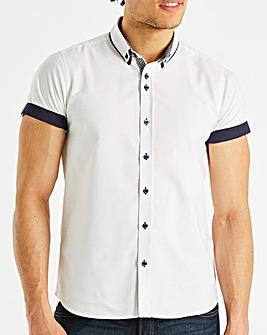 Black Label Oxford SS Shirt L