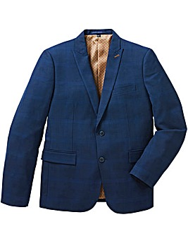 Flintoff By Jacamo Blue Slim Jacket R