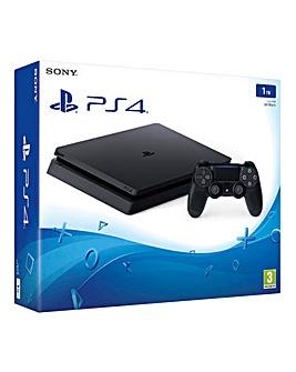 PS4 Slim 1TB Console Black