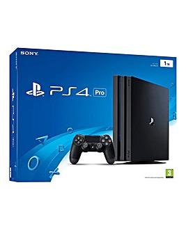 PS4 PRO 1TB Console Black