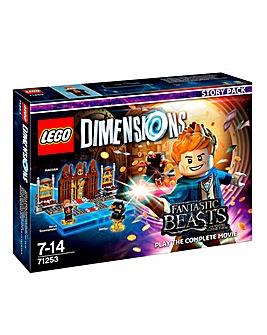 Lego Dimensions Fantastic Beasts Story