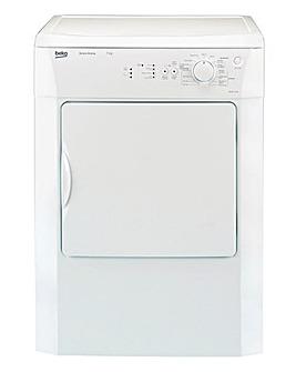 Beko 7kg Vented Dryer White