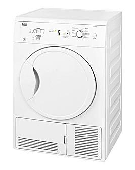 Beko 7kg Condenser Dryer White