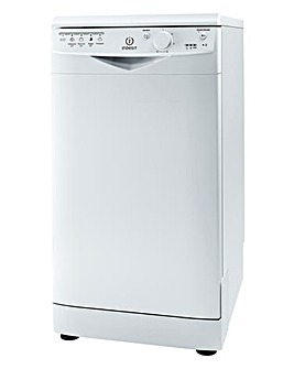 Indesit Slimline Dishwasher White