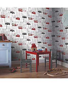 Arthouse Motor Mania Wallpaper