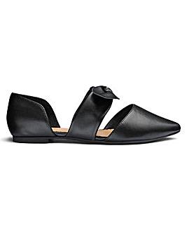 Sole Diva Bow Shoe E Fit
