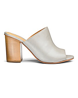Sole Diva Leather Mule Sandal E Fit