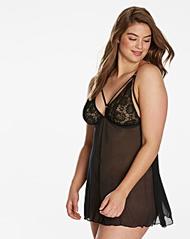 Simply Be By Night Strappy Babydoll