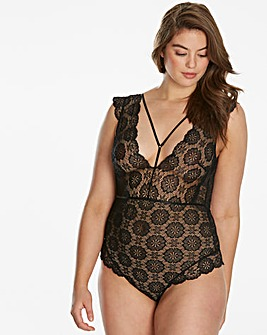 Simply Be By Night Strappy Body