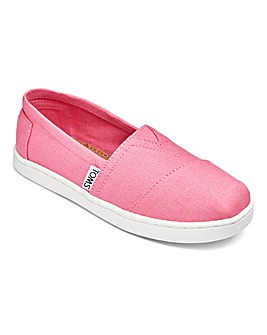 Toms Junior Classic Canvas