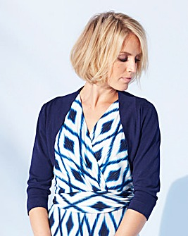 Nightingales 3/4 Sleeve Shrug