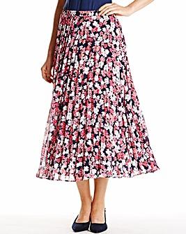 Nightingales Sunray Pleat skirt