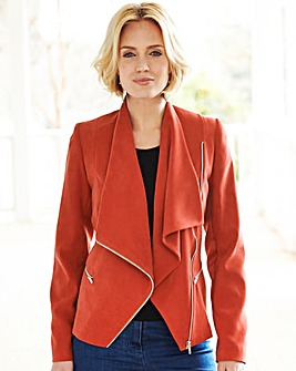 Nightingales Suedette Jacket