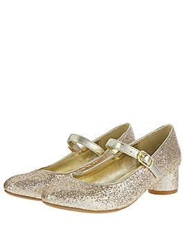 Monsoon Lucille Gold Glitter Heel