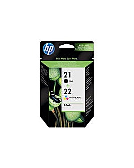 HP Black and Tri-Colour Ink Cartridges