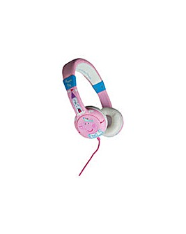 Peppa Pig Kids On-Ear Headphones - Pink