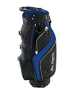 Ben Sayers DLX Cart Bag Black/Blue