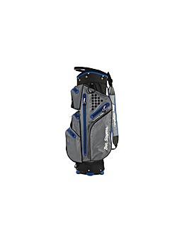 Hydra Pro Waterproof Cart Bag-Grey/Blue