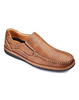 Cushion Walk Slip On Shoes Standard Fit