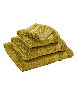 Egyptian Cotton Towel Range Apple Green