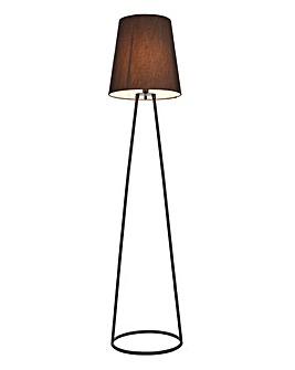 Black Wire Floor Lamp