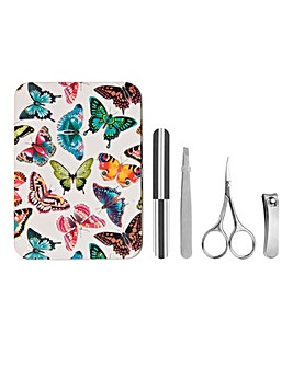 Butterfly Manicure Tin Set