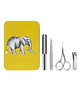 Elephant Manicure Tin Set