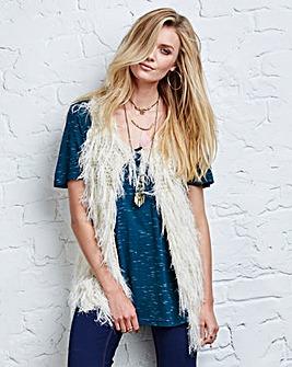 Crochet Knit Gilet