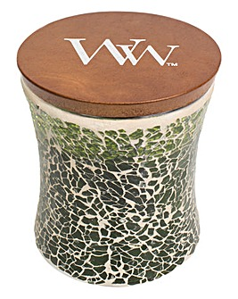 Wood Wick Evergreen Mosaic Candle