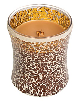 Wood Wick Hot Toddy Mosaic Candle