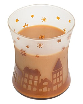 Wood Wick Hot Toddy Scenic Jar
