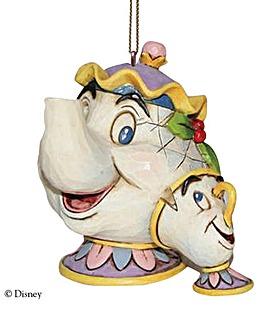 Mrs Potts & Chip Hanging Ornament