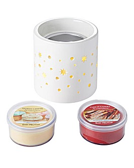 Yankee Candle Star Scenterpiece & 2 Cups