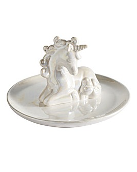 Iridescent Unicorn Trinket Tray
