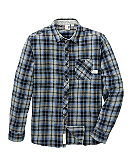 Fenchurch Bellton Flannel Shirt Long