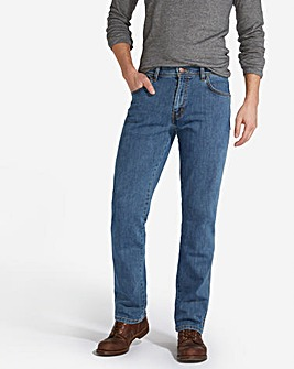 Wrangler Texas Stretch L Stone 32 In Leg