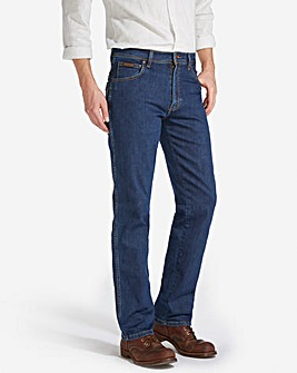 Wrangler Texas Stretch DkStone 34 In Leg