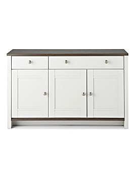 Salcombe 3 Door 2 Drawer Sideboard