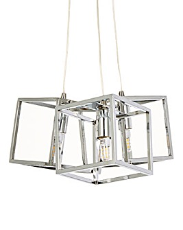 Cubes 3 Light Pendant